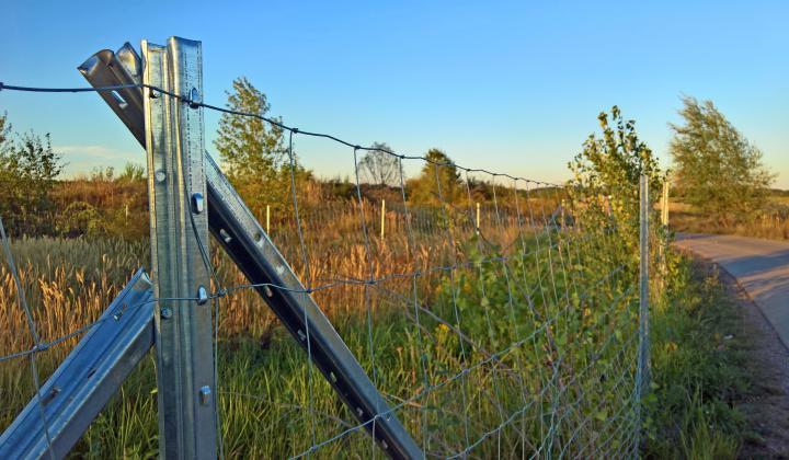 Der sichere Wildzaun, Forstzaun, Weidezaun, Knotengeflecht für Grundstücke